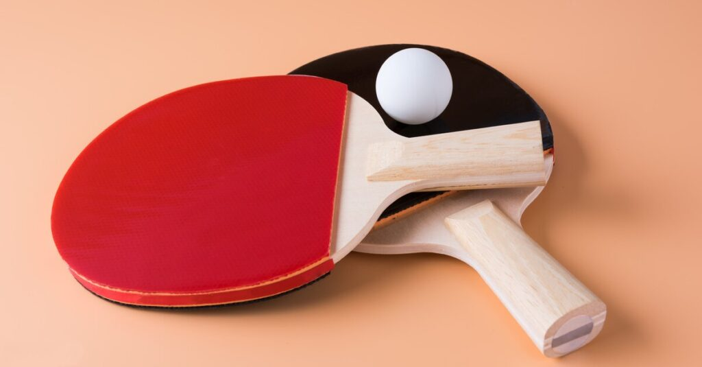 Why Are Ping Pong Paddles Red and Black: Understanding the Difference